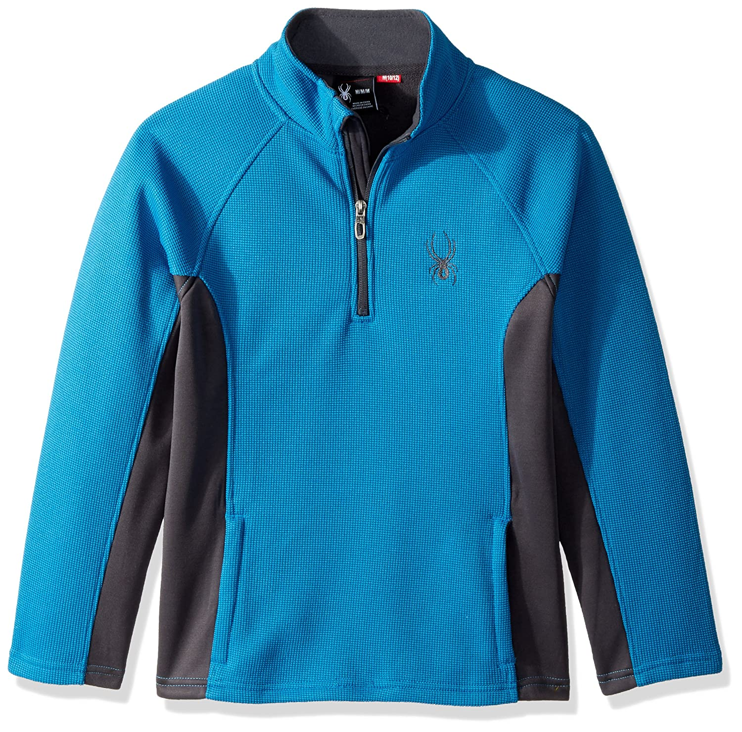 Spyder Boys' Big Central 1/4 Zip Sweater