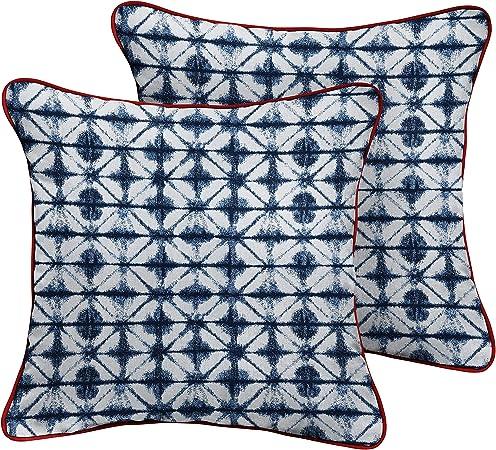 Mozaic Amps113226 Lumbar Pillow Blue 14 X 24
