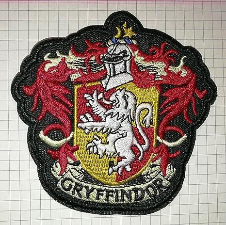 Parche bordado, de tela, diseño de Gryffindor, de Harry Potter,