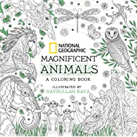 National Geographic Magnificent Animals An Adult Coloring Book