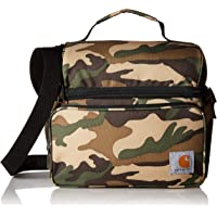 Carhartt Deluxe Dual Compartment Insulated Lunch Cooler Bag, Camo