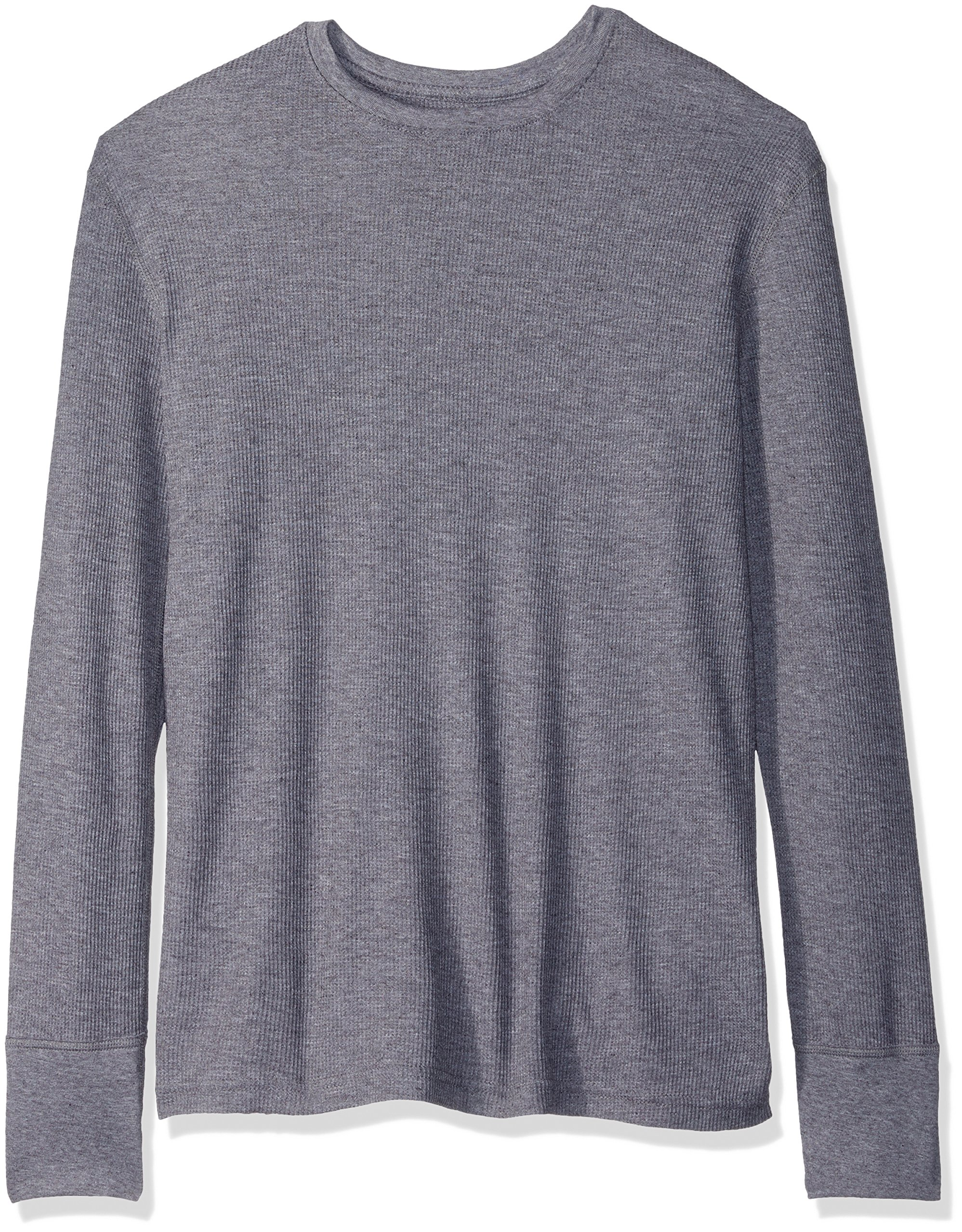 Fruit of the Loom Men's Premium Natural Touch Thermal Top, Charcoal Grey Heather, Large by Fruit of the Loom
