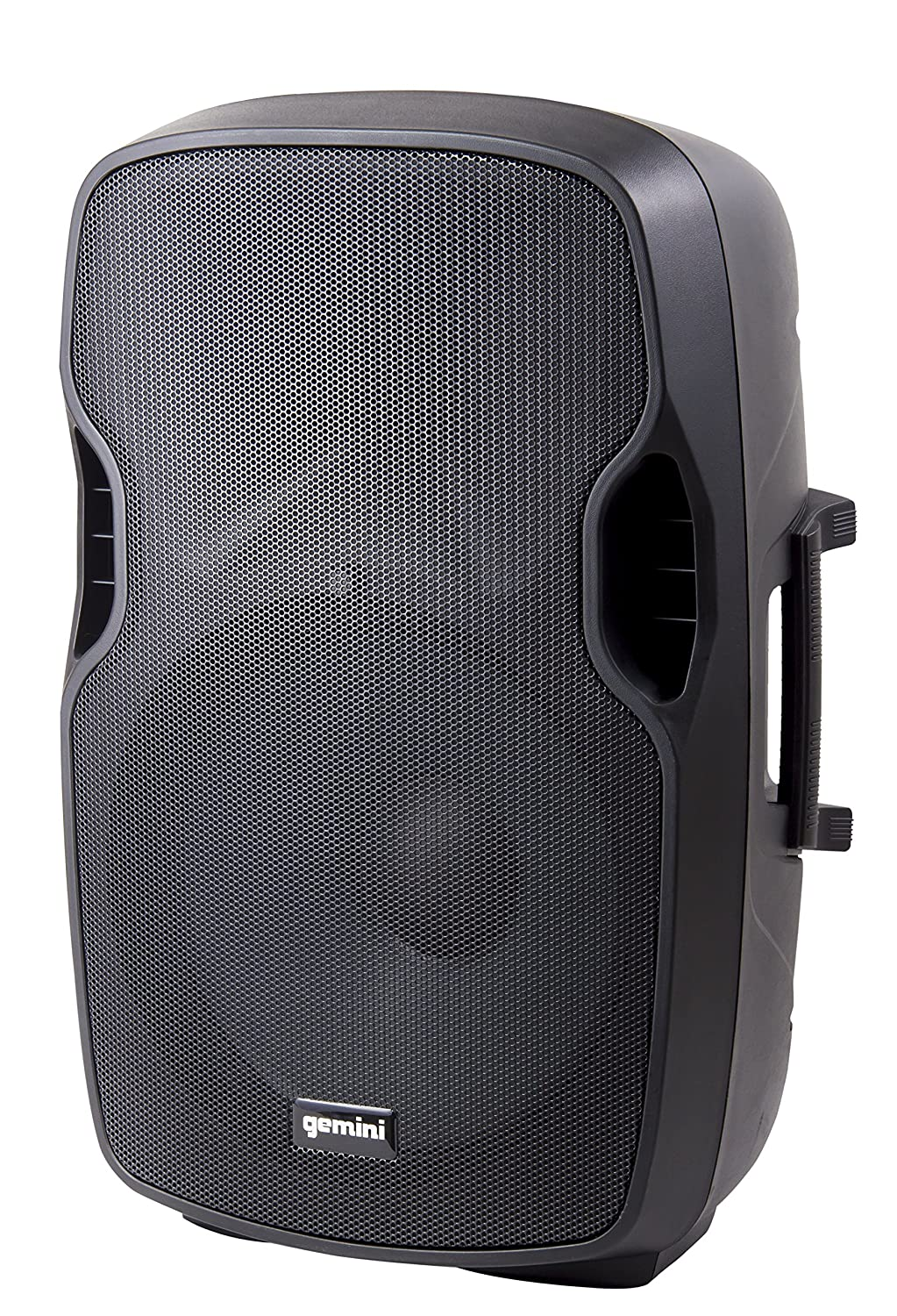 Gemini AS Series AS-10BLU Professional Audio Bluetooth 10 Portable Active PA Loudspeaker with High/Low Equalization and Gain Control, Mic and Line XLR, 1/4, 1/8 & RCA inputs 1/4 1/8 & RCA inputs