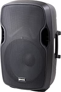 "Gemini, 2 Professional Audio Bluetooth 8-inch Portable Active PA Loudspeaker with High/Low Equalization and Gain Control, Mic and Line XLR, 1/4"", 1/8"" & RCA inputs, AS-08BLU (AS-08BLU)"
