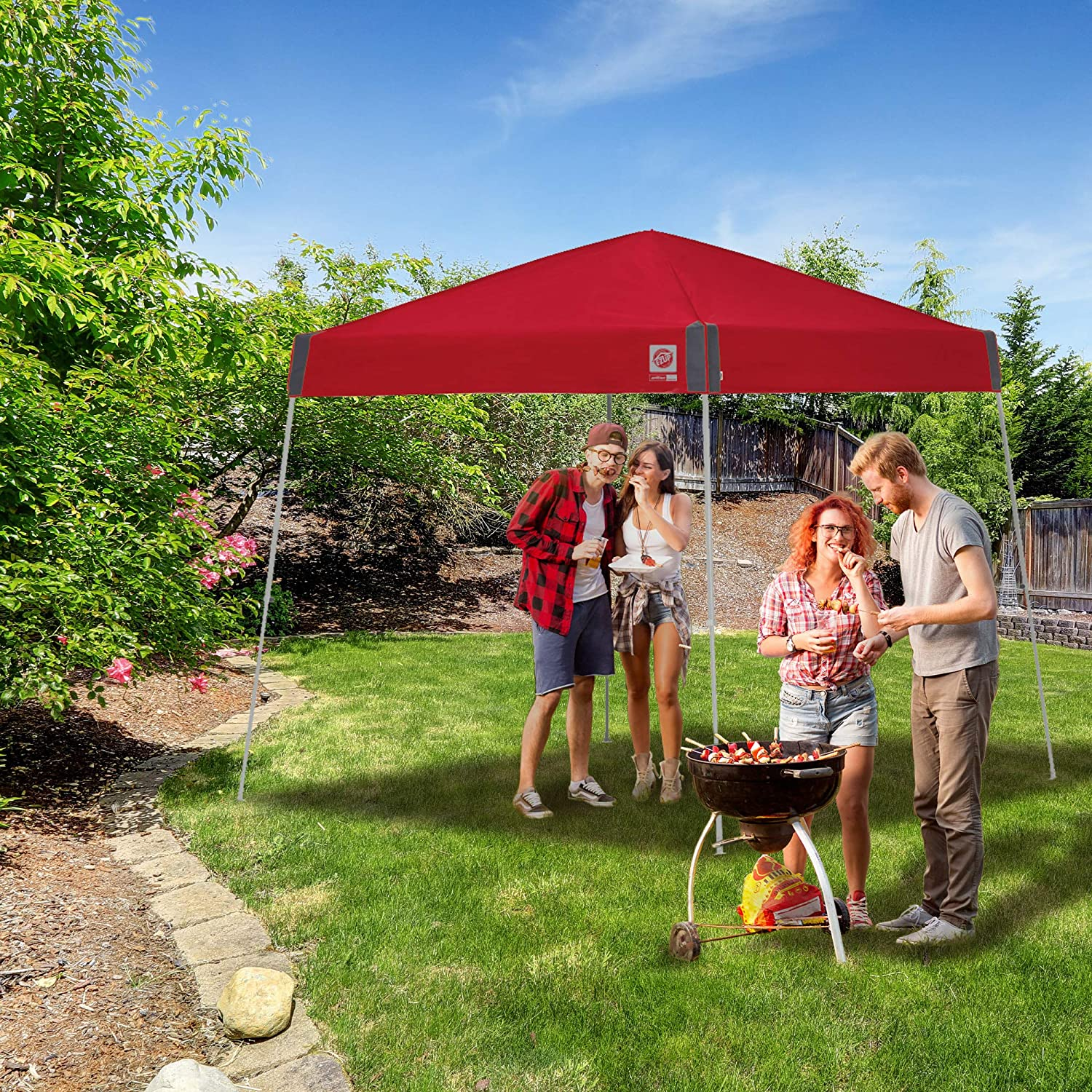 Punch E-Z UP Sprint Instant Shelter Canopy 12 by 12