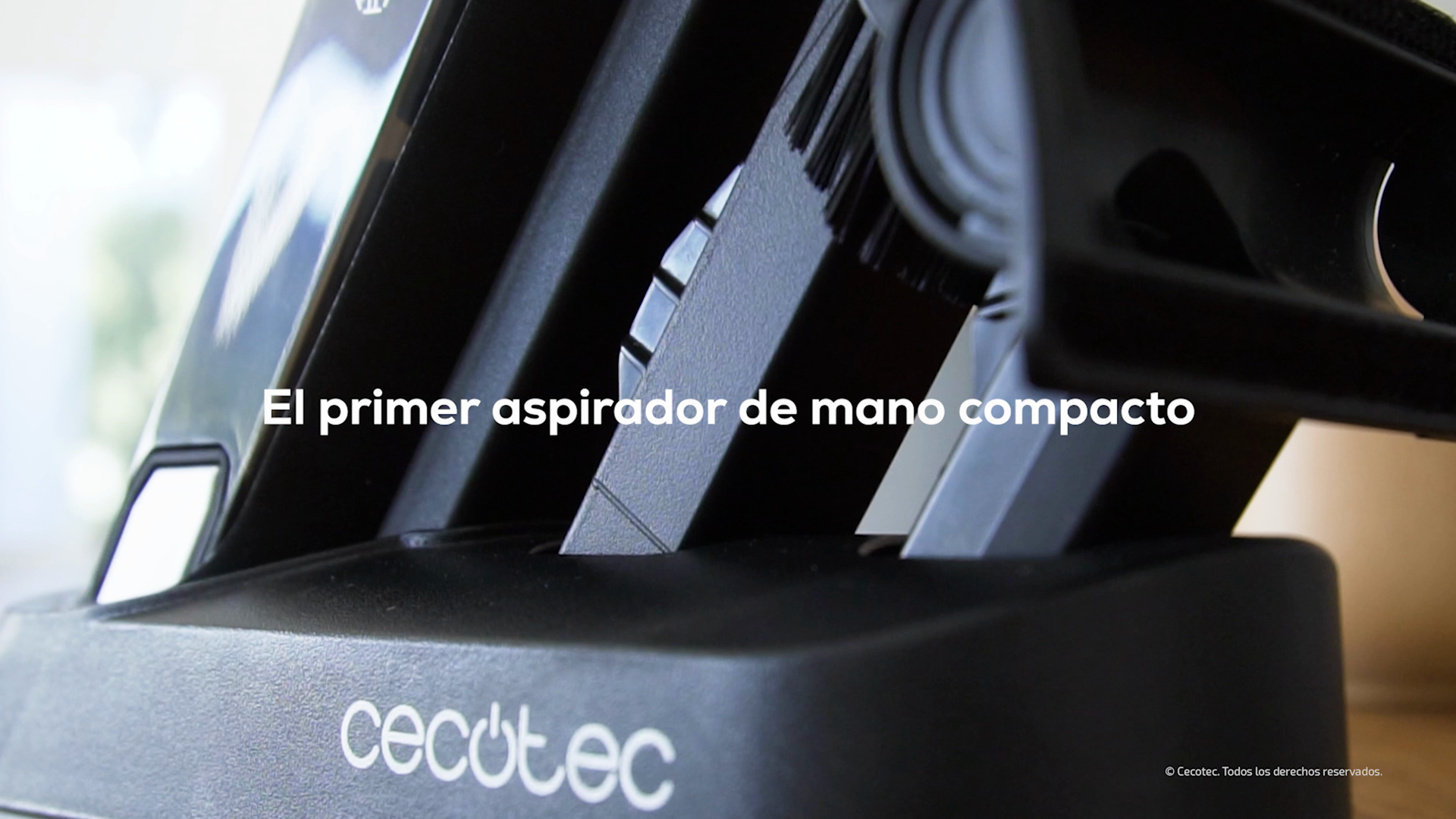 Cecotec Conga Rockstar Micro 8000. Aspirador de Mano, Motor Digital brushless de 120 W, 14 kPa Poder de succión, Autonomía hasta 20 Minutos, 2 Modos de Potencia: Amazon.es: Hogar