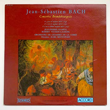 Jean-Sebastian Bach: Concertos Brandebourgeois / Orchestre De Chambre De La Saare, Karl