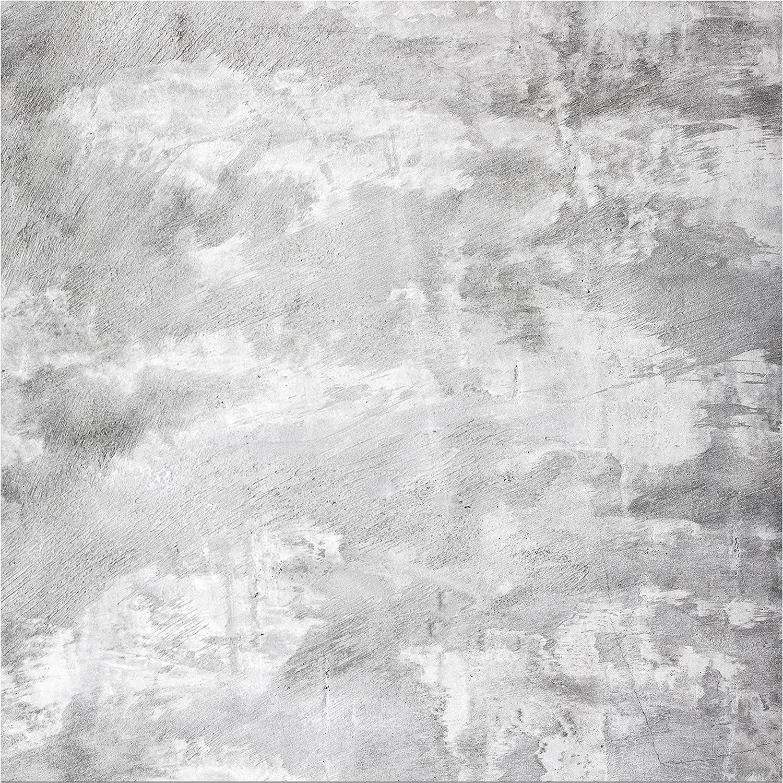 Apalis Table Basse Design Shabby Concrete Look 55x55x45cm Table de Noir; Dimension 55 x 55 x 45cm Couleur de la Table