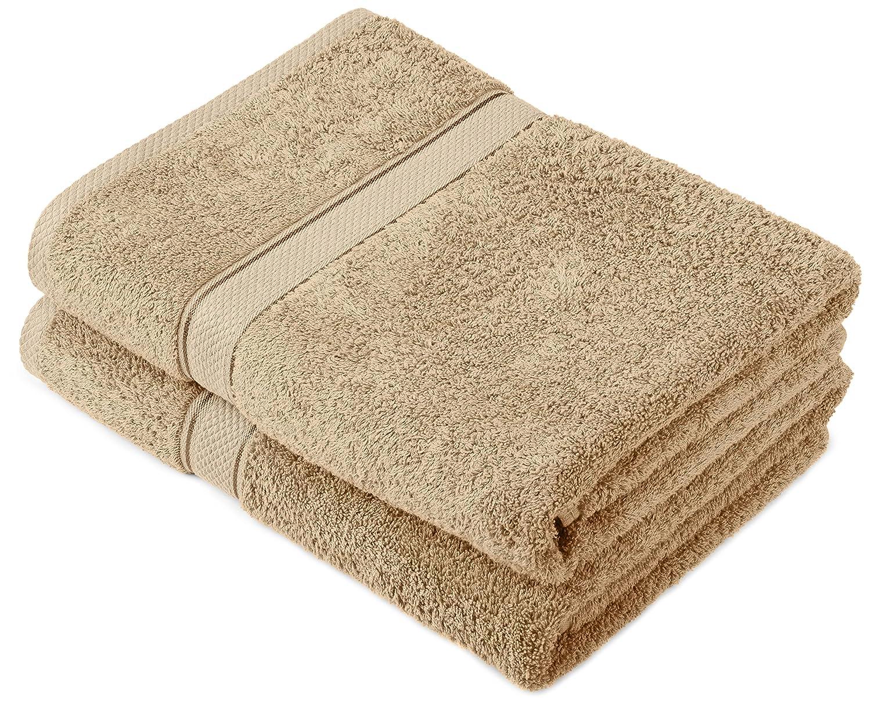 Handtuchset aus Baumwolle,2 Badetücher