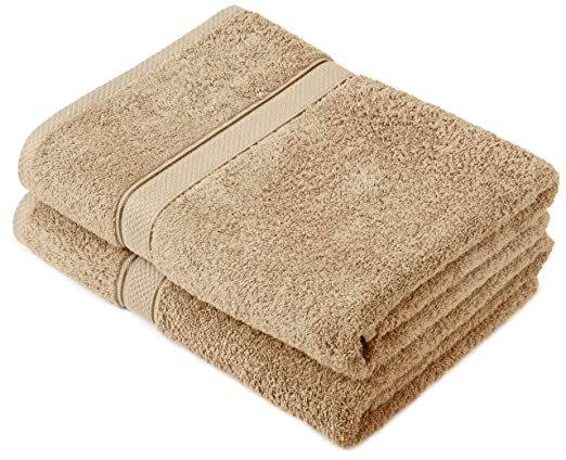 121 opinioni per Pinzon by Amazon- Set di asciugamani in cotone egiziano, 2 asciugamani da bagno,
