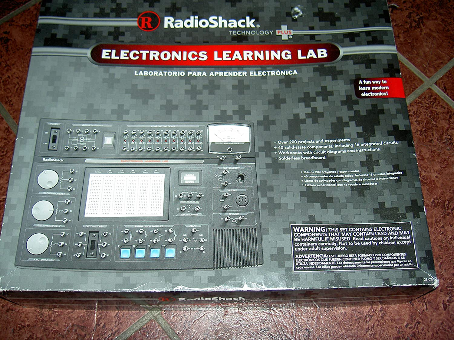 New Snap Circuitsr Sound Scs185 Gtin Stock Now Electronics Learning Lab Industrial Scientific