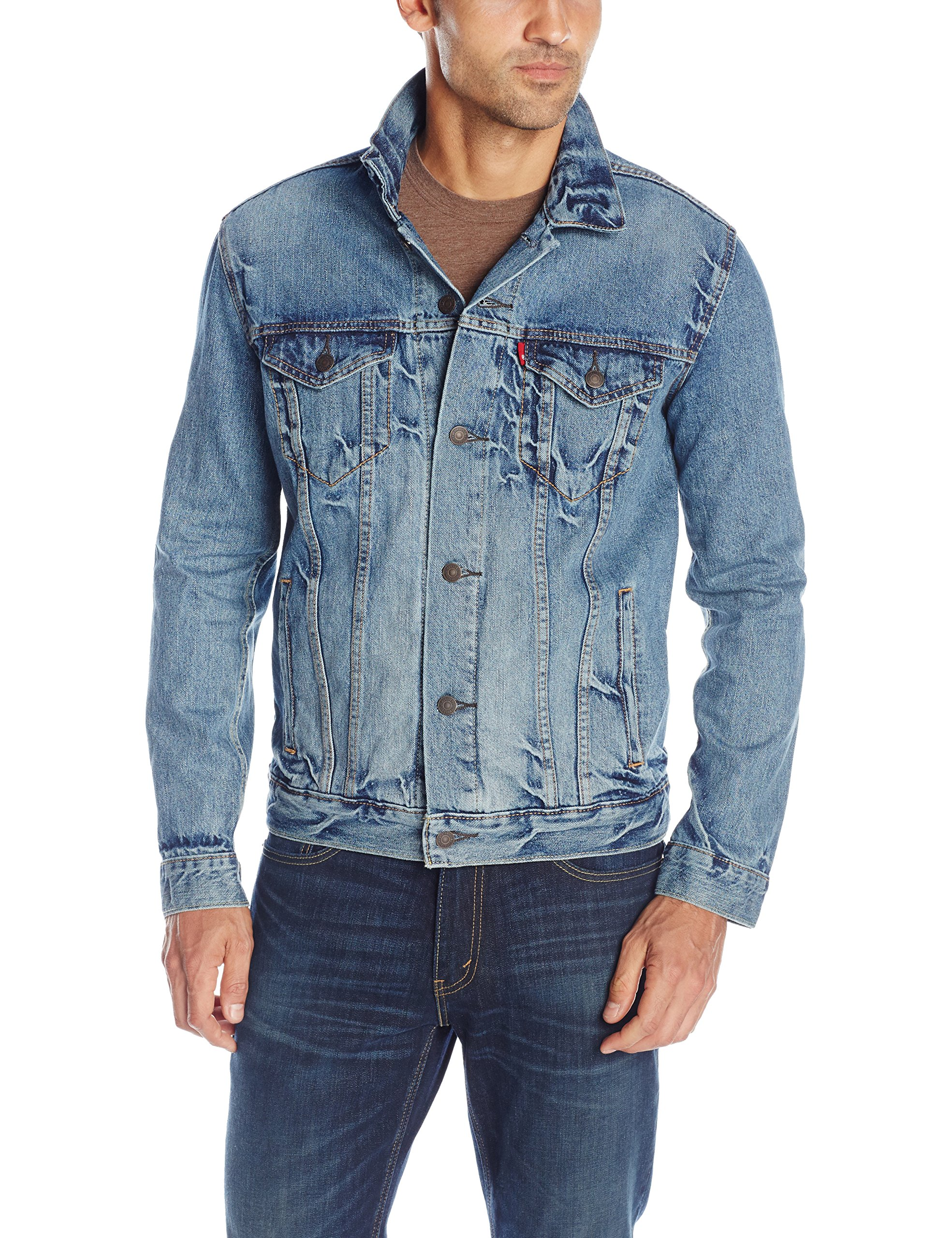 Levi's Men's The Trucker Jacket, Spire, Medium by Levi's