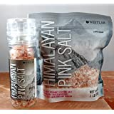Grinder - Westlab Himalayan Pink Salt Gourmet Cooking Quality 4oz. Grinder with Free1lb Refill Pouch (Coarse)