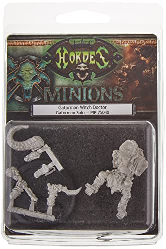 Privateer Press - Hordes - Minion: Gatorman Witch Doctor Model Kit