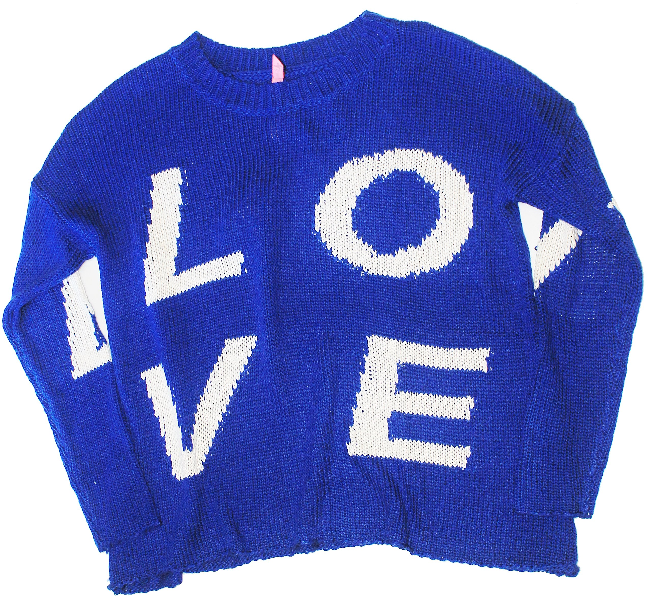 Girls So Nikki Love Sweater Size Small by SO NIKKI (Image #1)