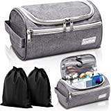 Travel Toiletry Bag – Small Portable Hanging Cosmetic Organizer for Men Women
