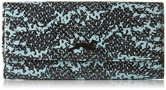 Bimba y Lola - cartera con solapa para mujer, color azul: Amazon.es: Zapatos y complementos