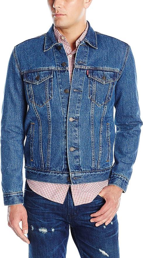 Levi's 李维斯 经典款 男式牛仔夹克 牛仔服 3.7折$32.99 海淘转运到手约¥291