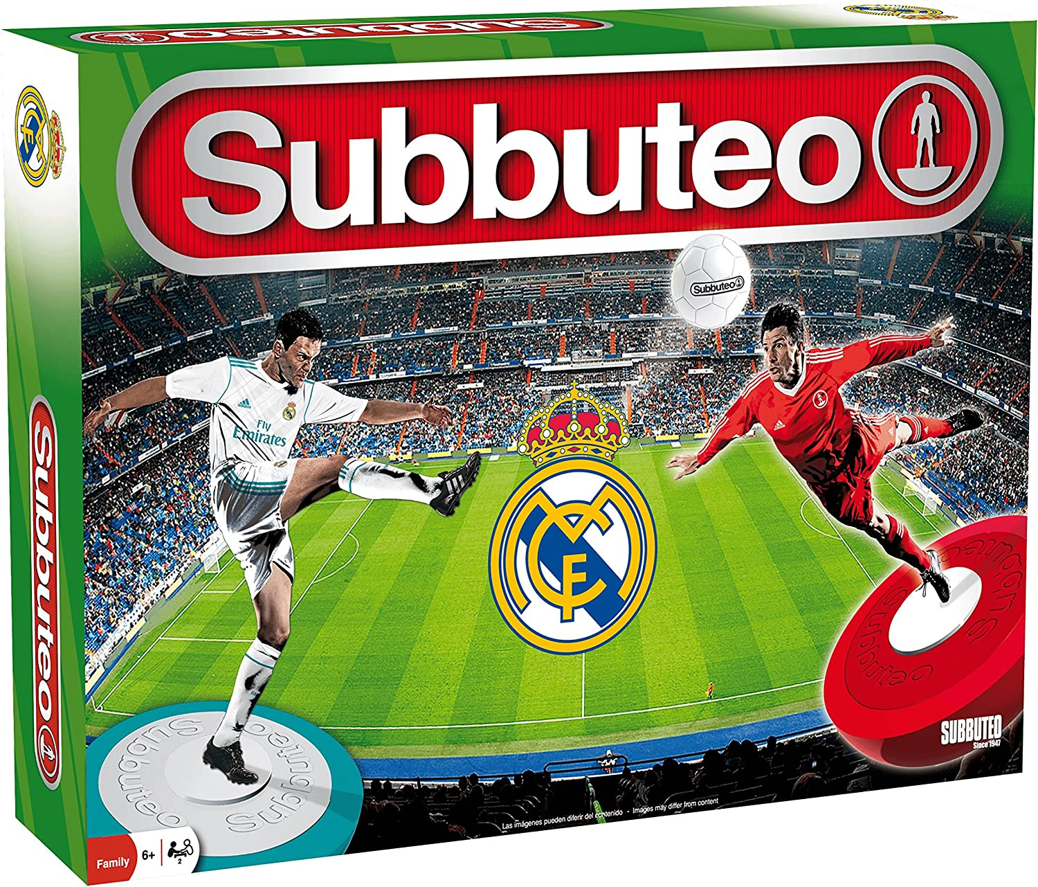 ELEVEN FORCE Subbuteo Real Madrid 40x28-6 años: Amazon.es ...