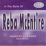 REBA MCENTIRE Country Karaoke Classics CDG Music CD