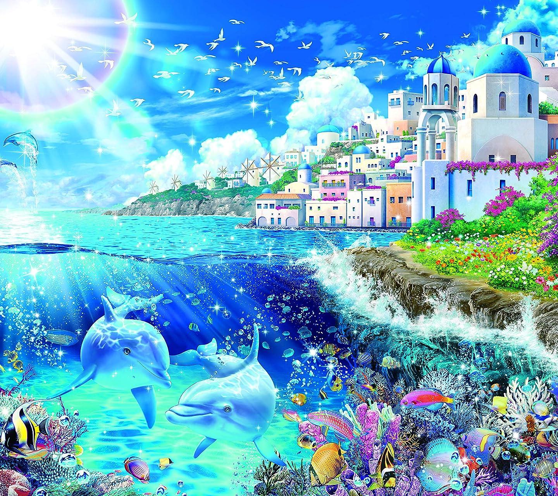 ラッセン ミコノス ~ワールド トラベル~ HD(1440×1280)スマホ 壁紙・待ち受け