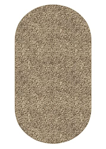 Oval 5 x8 Frieze 25 oz Gremstone Bronzite Area Rug Carpet Many Sizes and Shapes