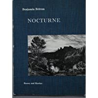 Nocturne. For tenor solo, seven obligato instruments and string orchestra. Op. 60. Vocal score by Imogen Holst