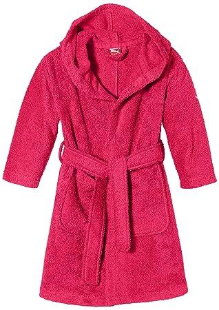 38a4ec101d PUMA Active Peignoir de bain Enfant Virtual Pink FR : S (Taille Fabricant :  128