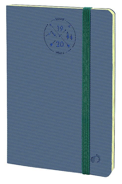 Quo Vadis 549012Q - Agenda HORIZONTAL 15-SD EVEREST Sept-2019 hasta Dic-2020, Semana Vista, A6/10x15cm, Color Azul