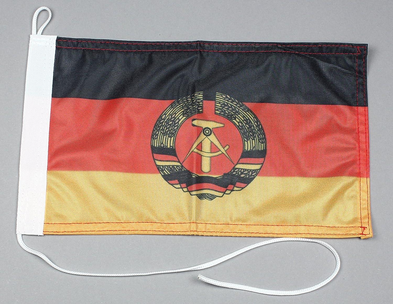 Barco Bandera DDR República Democrática Alemana 20 X 30 cm en Calidad Profesional Bandera Moto Bandera: Amazon.es: Juguetes y juegos