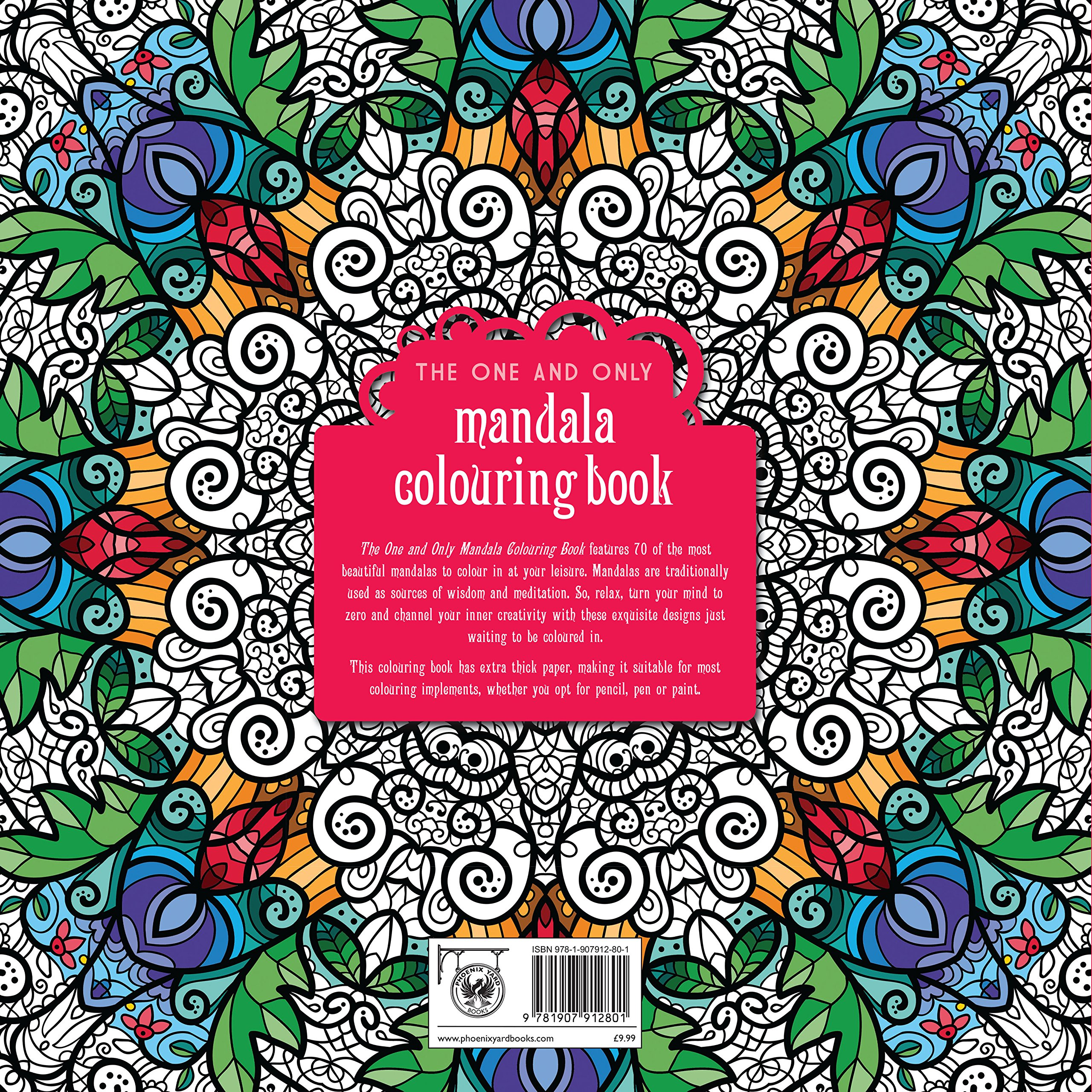 Famous Mandala Coloring Book Huge Big Coloring Books Square Color Me Books Geometric Coloring Book Youthful Coloring Books In Bulk ColouredUsborne Coloring Books The One And Only Mandala Colouring Book (One And Only Colouring ..