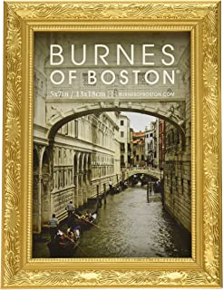 burnes of boston 266457 windsor leaves picture frame 5 inch by 7 inch
