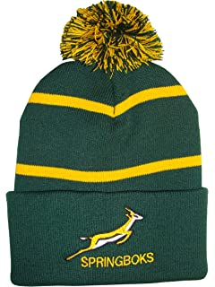 South African Rugby Beanie Hat  Amazon.co.uk  Sports   Outdoors c2049704288