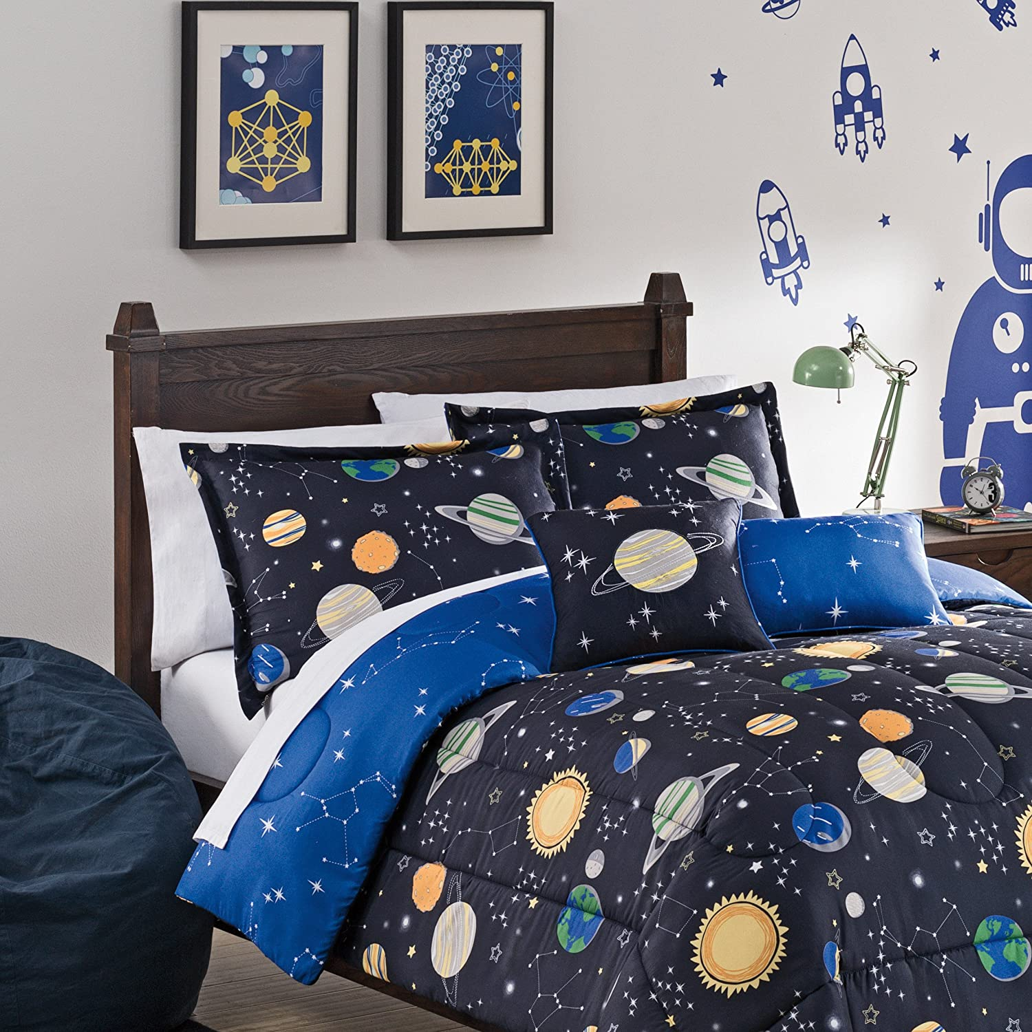 Waverly Kids Set Sail Reversible Bedding Collection Multicolor Full//Queen