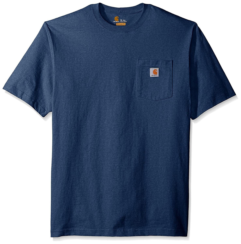 Carhartt Mens Big /& Tall Workwear Pocket Short Sleeve T-Shirt Original Fit K87