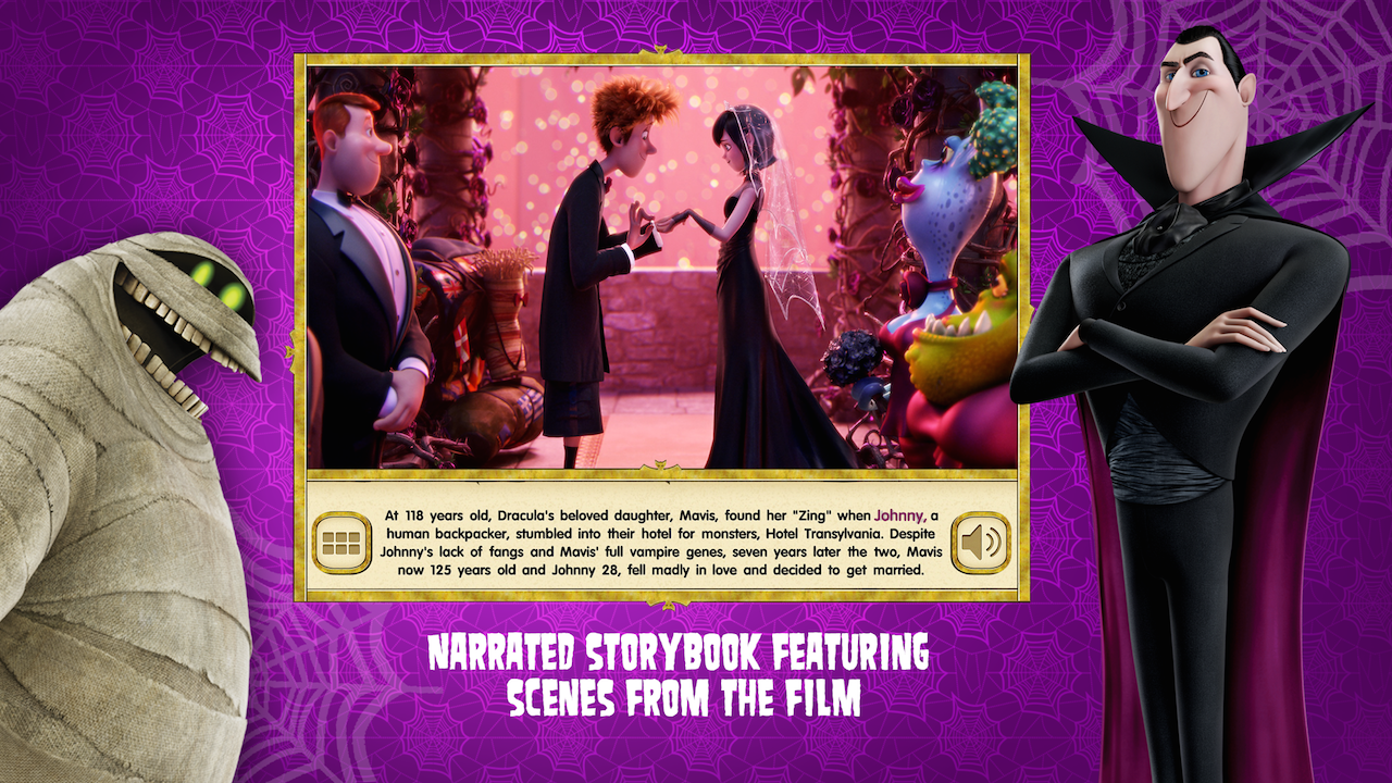 Amazon Hotel Transylvania 2 Official Storybook App Appstore For Android