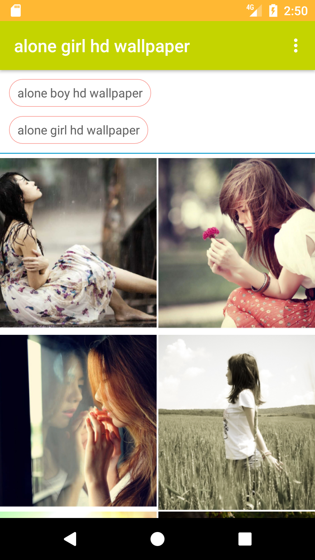 Amazon Com Alone Girl And Boy Hd Free Wallpaper Appstore For Android