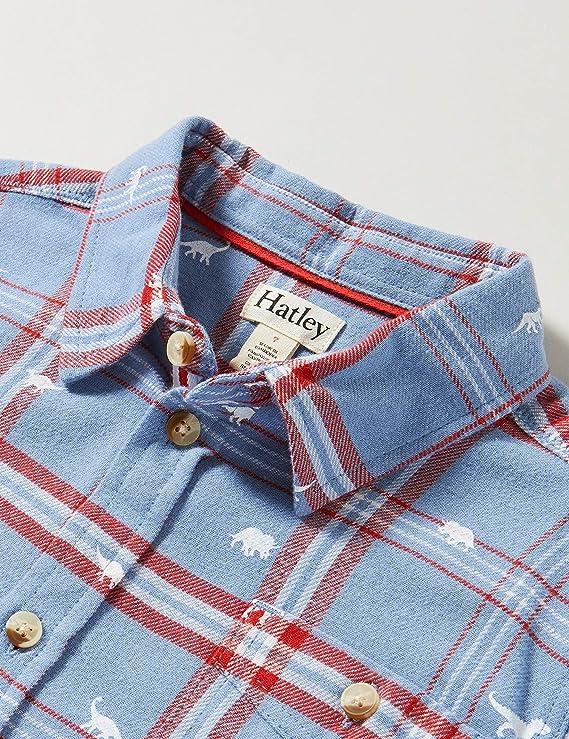 Hatley Button Down Shirt Chemise /à Bouton Bas B/éb/é gar/çon