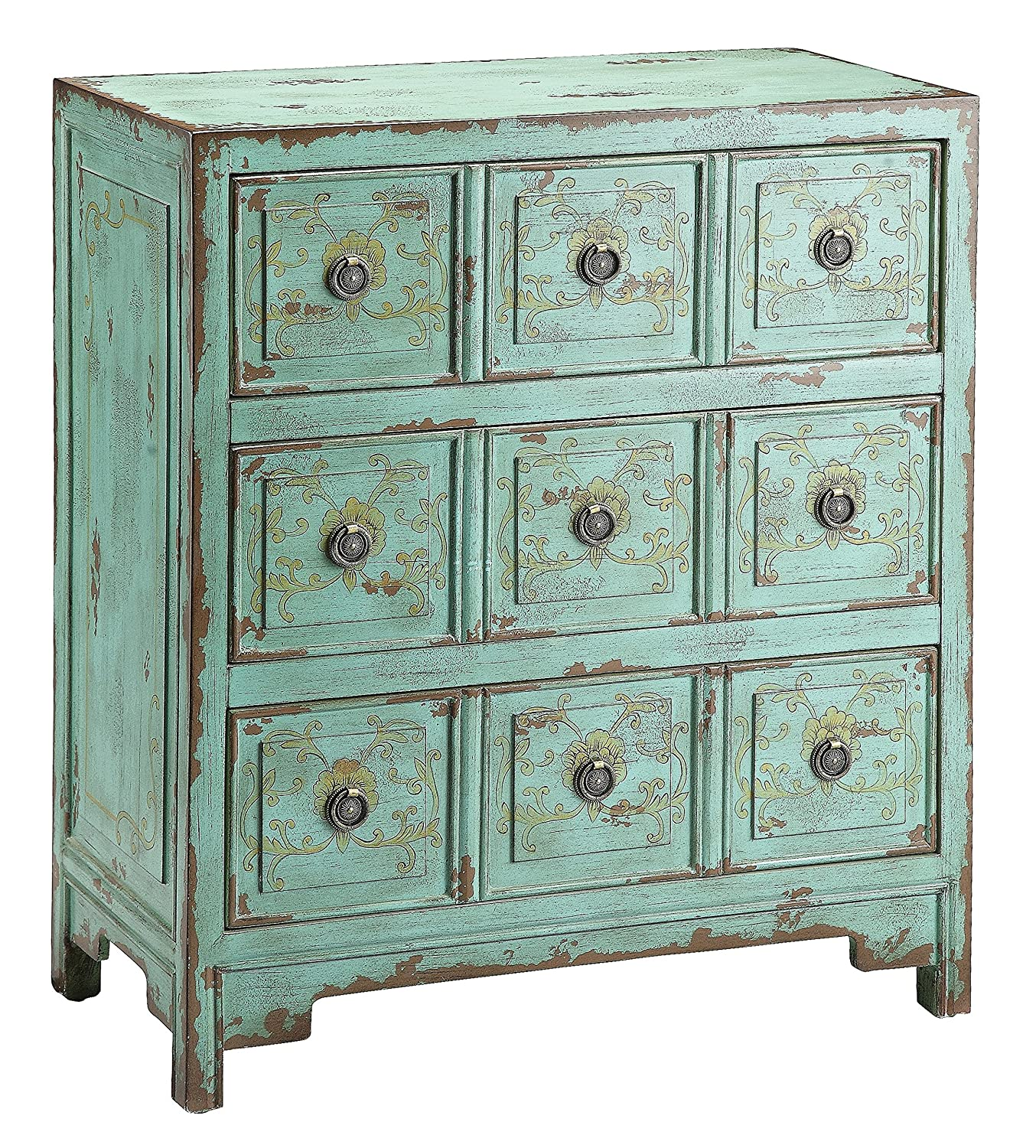 amazoncom stein world furniture anna apothecary chest kitchen dining apothecary style furniture patio