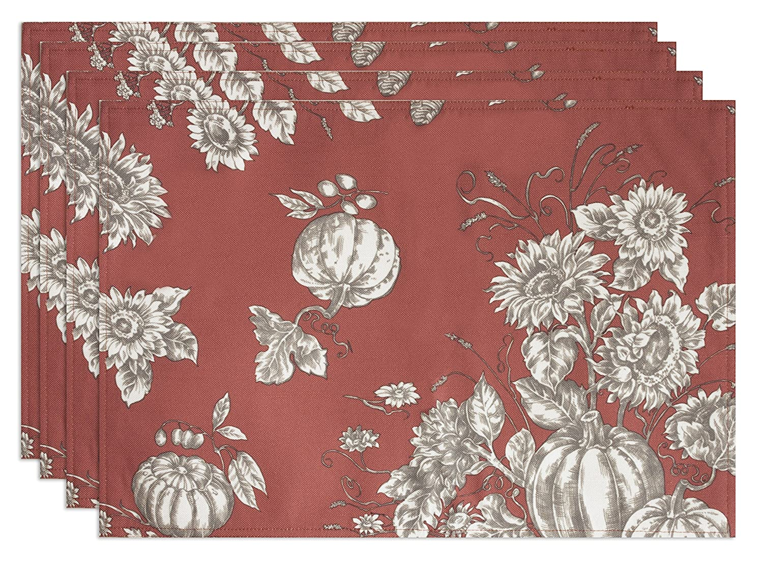 Bardwil 2365 Portsmith Placemats ( 4 )のセット、13