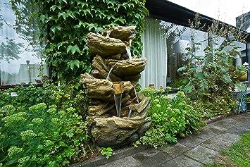 Ubbink Wasserspiel Sedona Brunnen Wasserfallschalen Garten