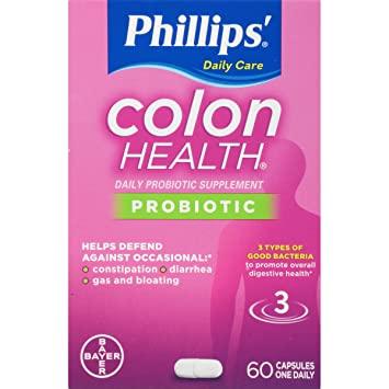 Phillips' Colon Health Daily Probiotic Supplement - best probiotic brand for constipation