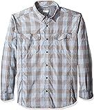 Columbia Sportswear Mens Silver Ridge Plaid Long Sleeve Shirt
