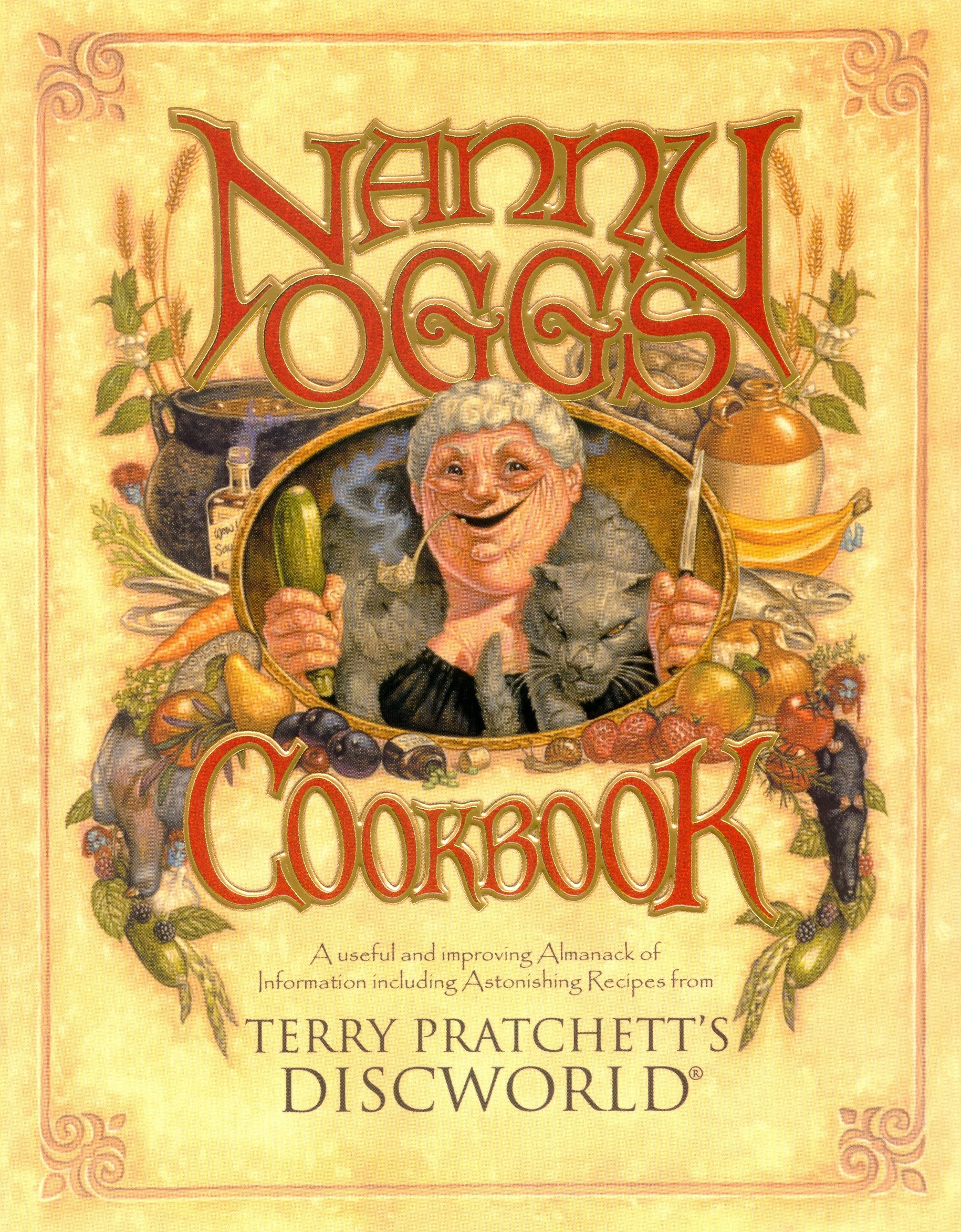 Nanny Oggs Cookbook (Discworld): Amazon.es: Pratchett, Terry: Libros en idiomas extranjeros