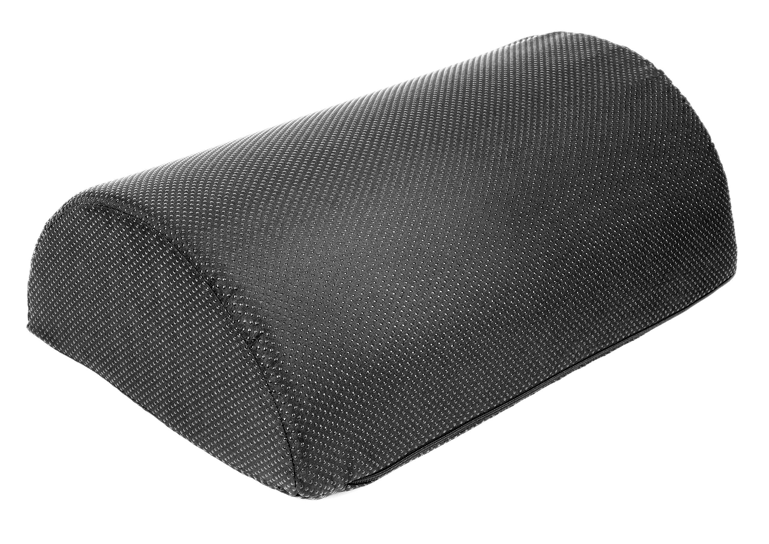 Foot Rest Cushion, Half Cylinder Design, for Home and Office (Large 17.7 '' Long by 11.8'' Wide by 6'' Tall)