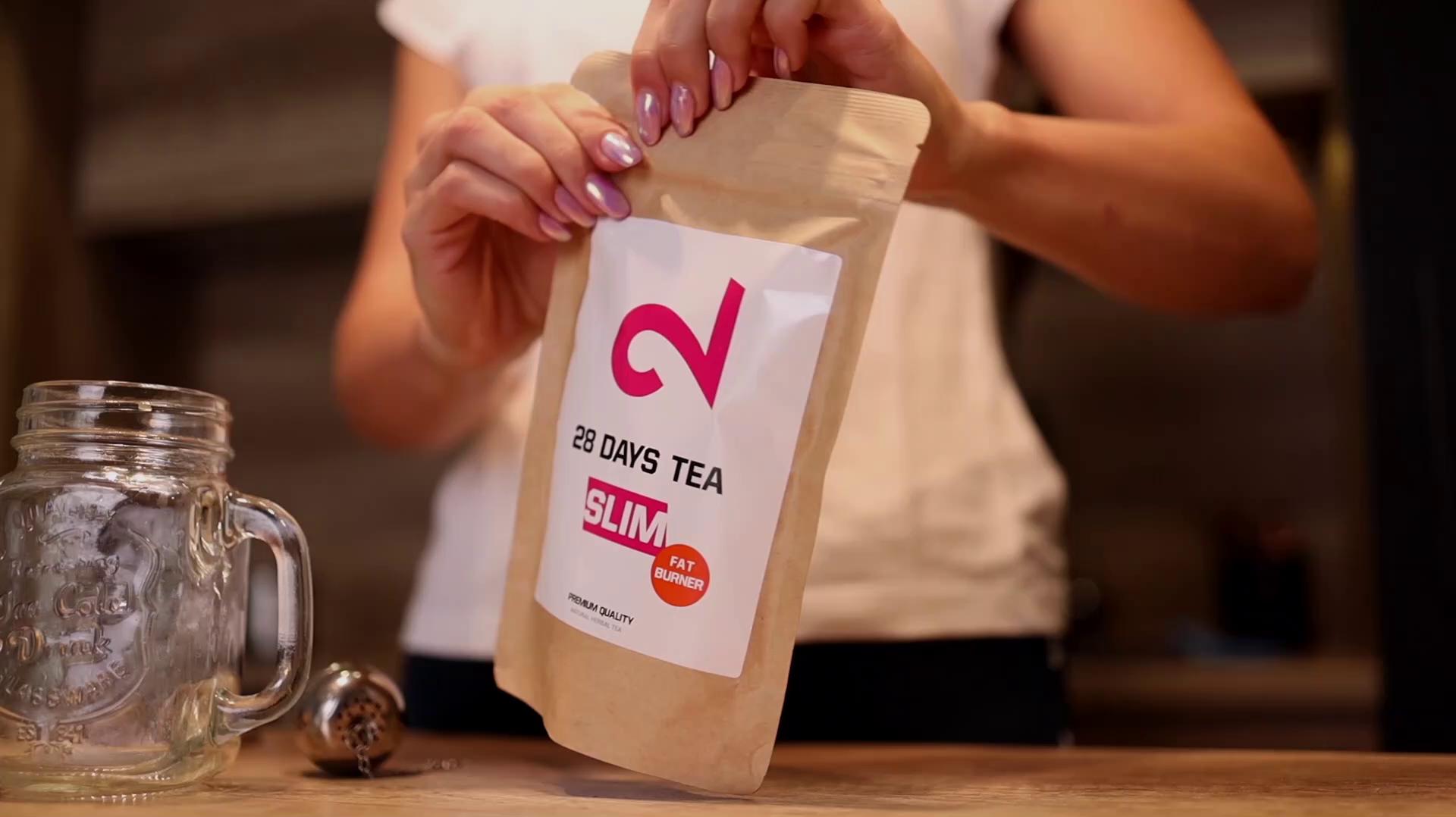 DUAL 28 Days Fat-Burner Tea| Té Quemador de Grasa para Pérdida de ...