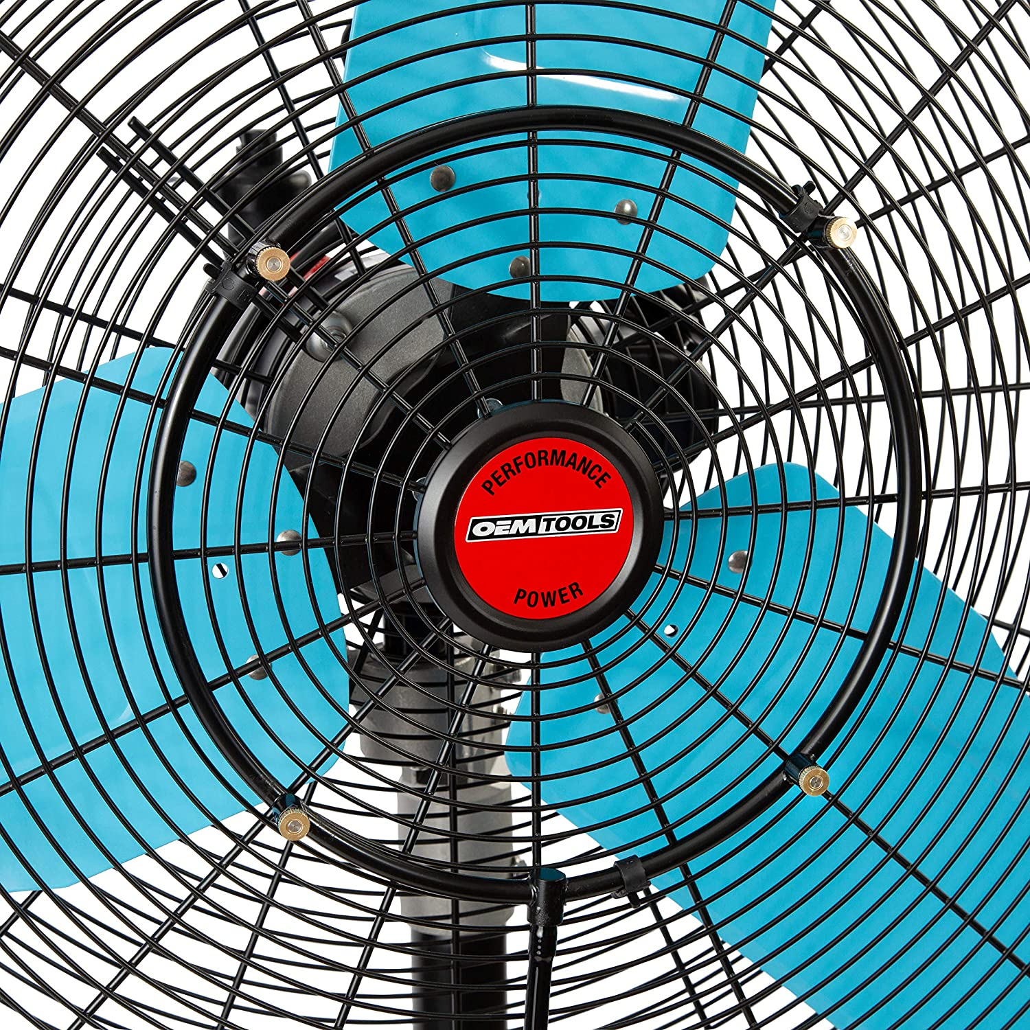 Outdoor Heating Misting Fans OEMTOOLS 23980 24 Misting Wall-Mount ...