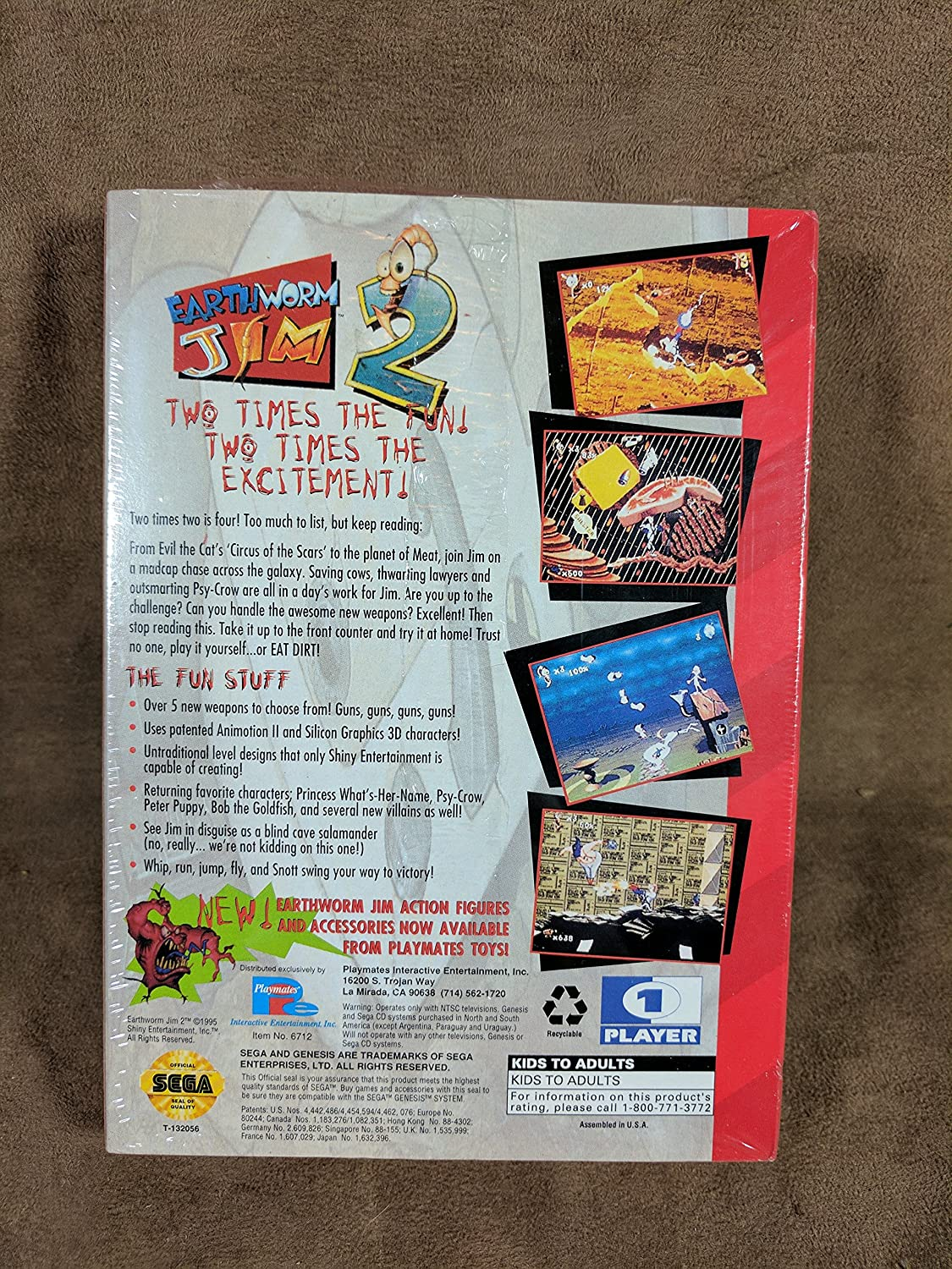 1995 Sega Sega Virtual On Video Flyer Mint To Be Distributed All Over The World Collectibles Manuals & Guides