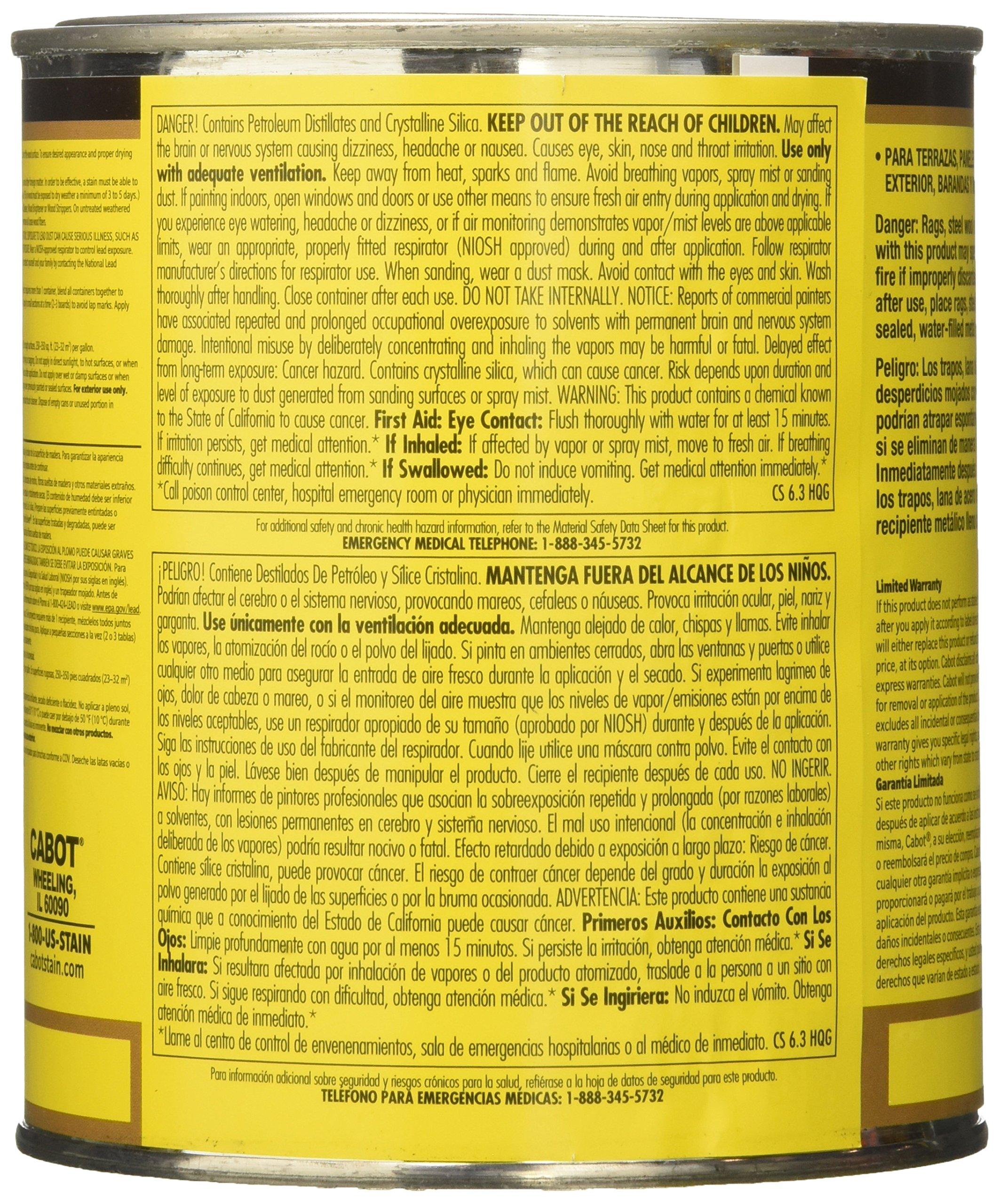CabotStain 04-3400 Australian Timber Oil Penetrating formula, 1 quart, Natural