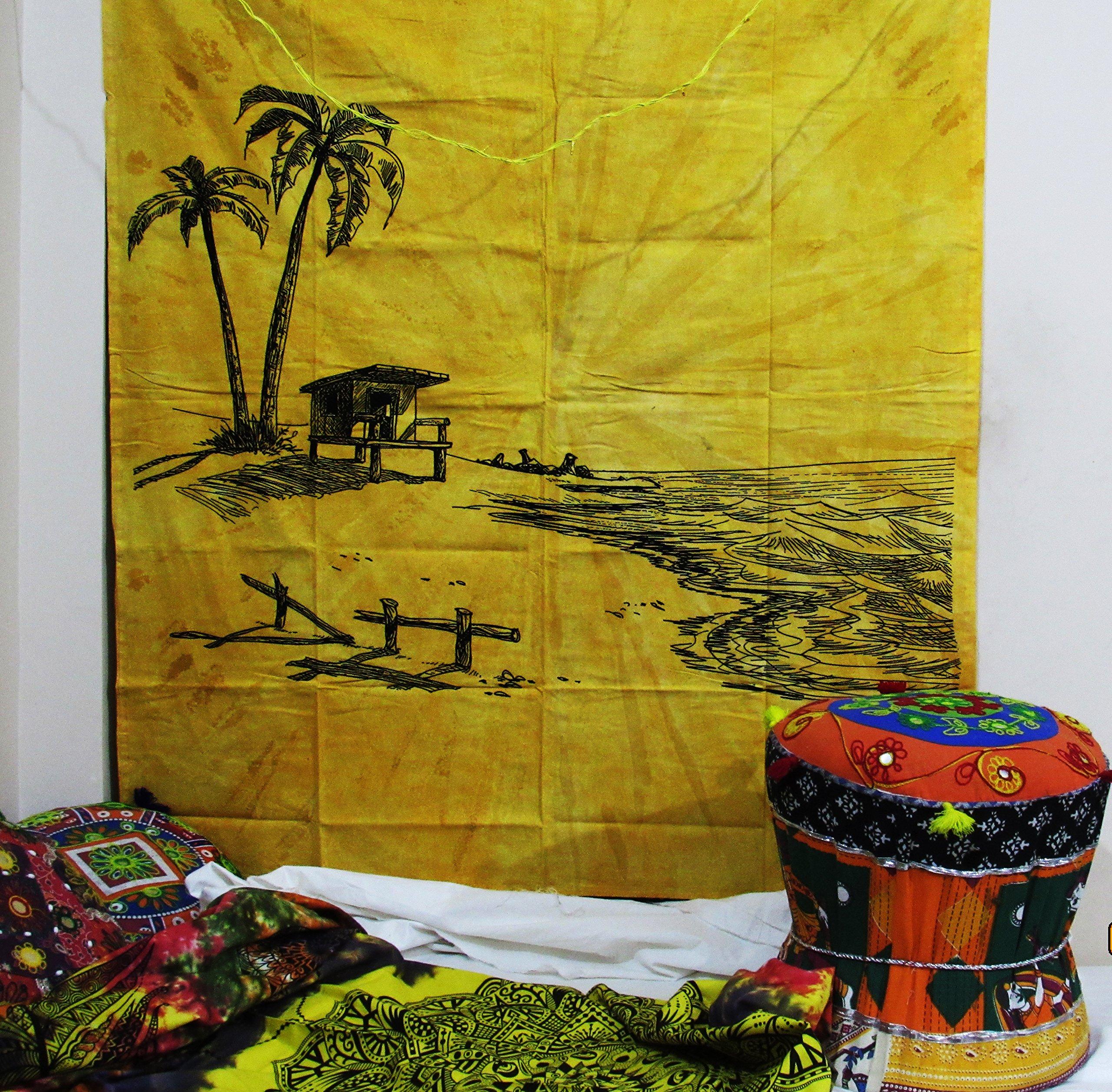 Tapestry Wall Hanging Indian Mandala Tie Dye Tye Hippie Hippy ...